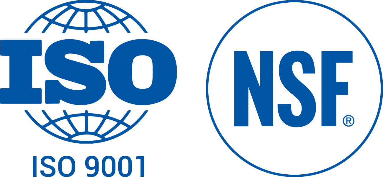 ISO and NSF icons