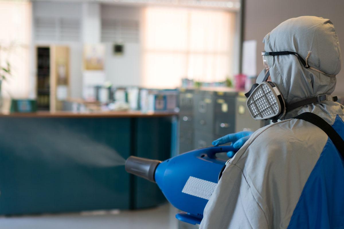 Pompe à engrenages à haute pression pour les machines de désinfection