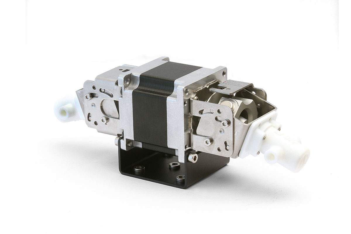 DPP Dual Precision Series Micro-Metering Pumps with Threaded In and Out Ports
