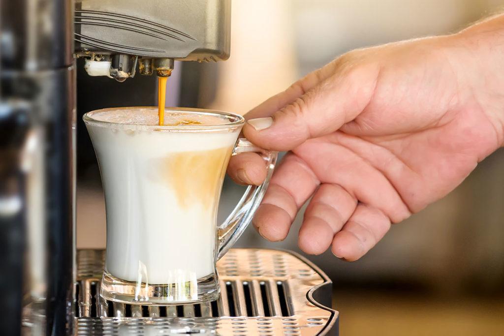 Pompe ad ingranaggi per la schiuma perfetta per macchine da caffè