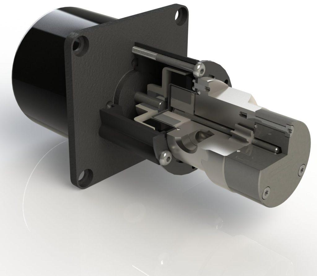 Pompes à engrenages à couplage magnétique