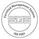 SQS ISO 9001 zertifiziert